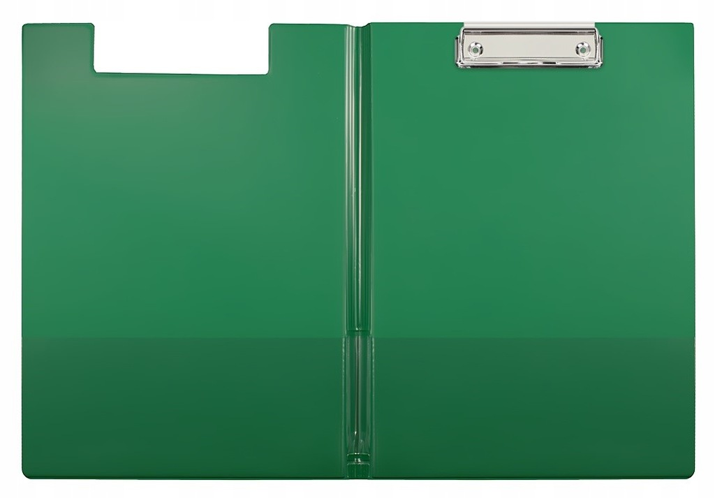 Deska z klipem i okładką Biurfol A4 zielona