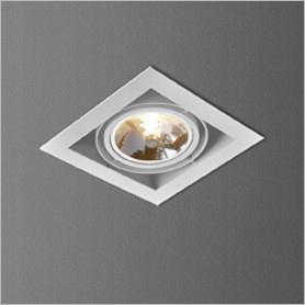 Lampa AQForm SQUARES chrom 30511-0000-T8-PH-32