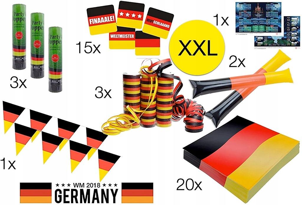 Zestaw dekoracji Timo Group XXL Niemcy