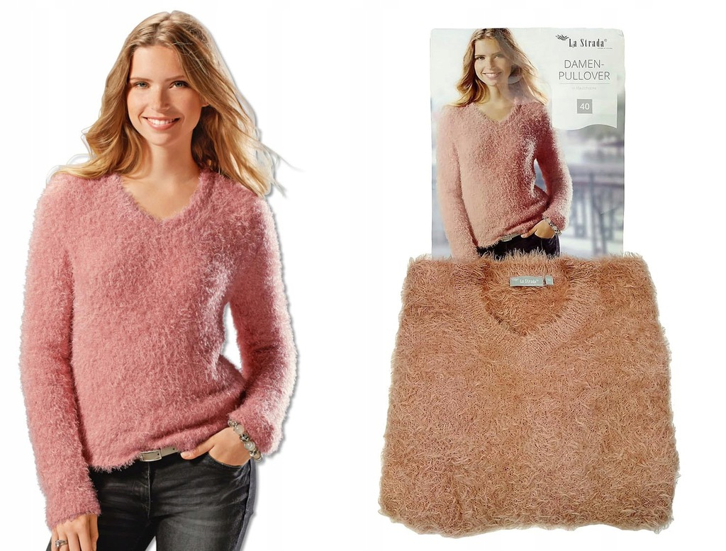 Pulower sweter rozmiar 40 L La Strada Pullover