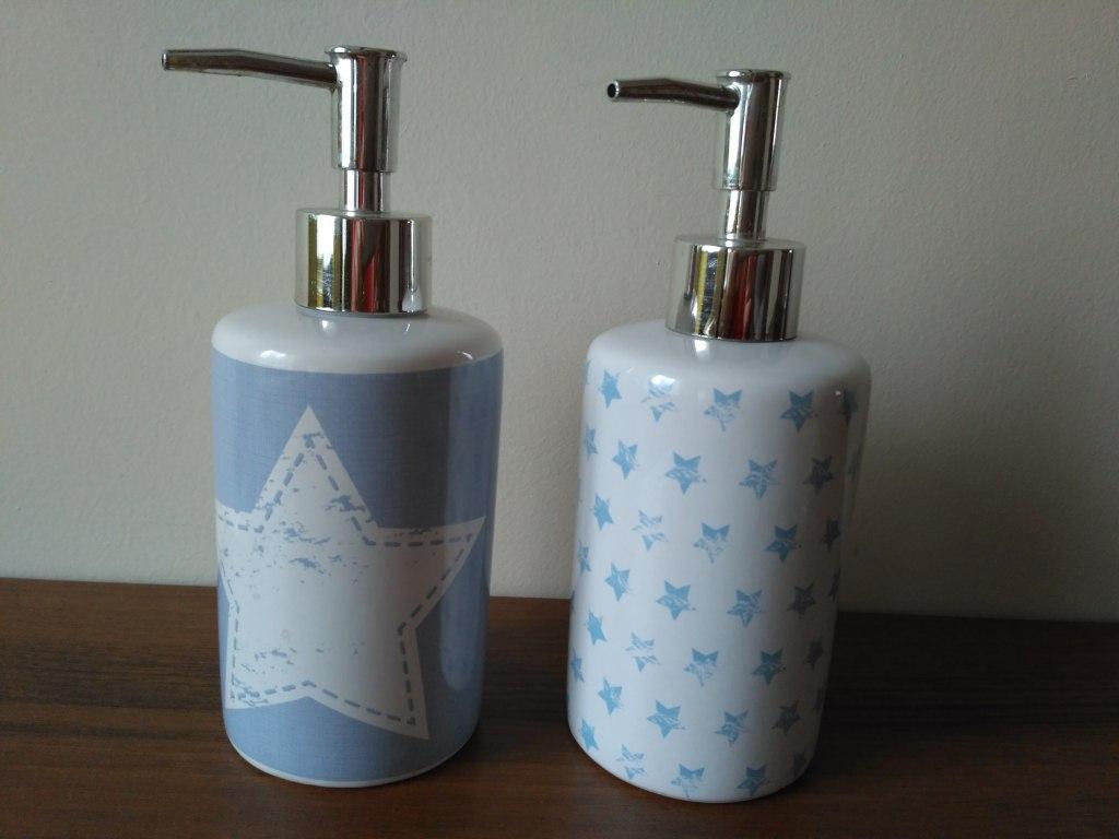 Zestaw dozowników do mydła/płynu