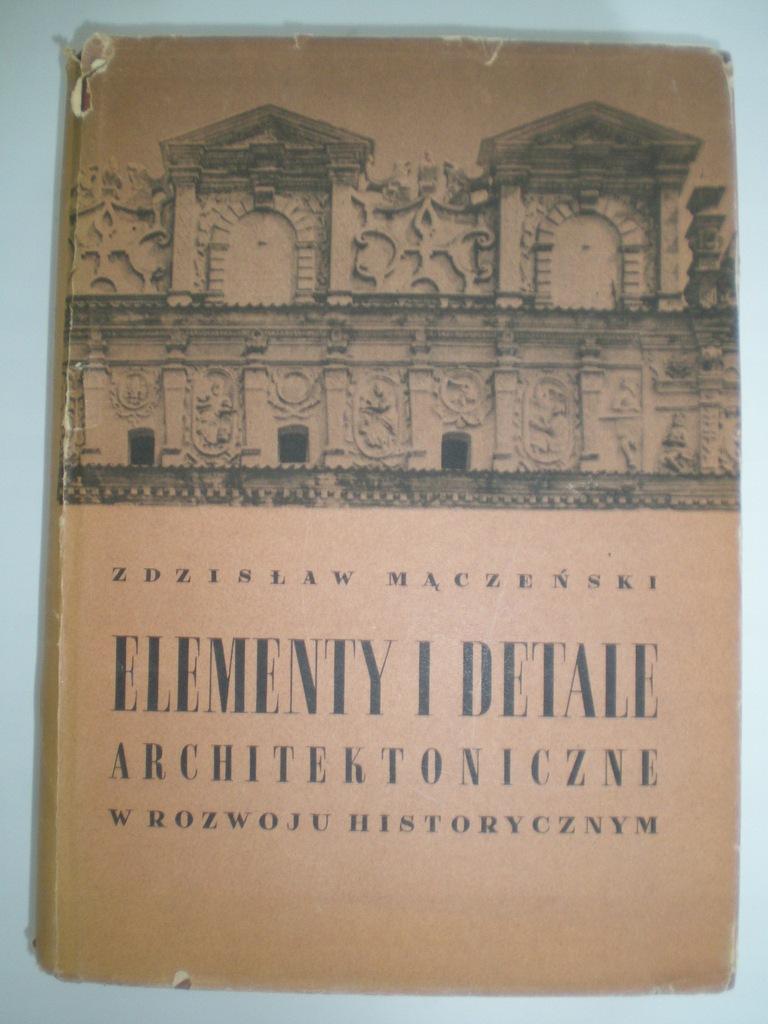 Datowanie elementów architektonicznych