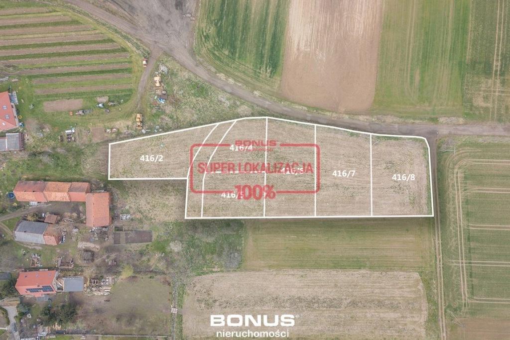 Działka, Gniechowice, 1037 m²