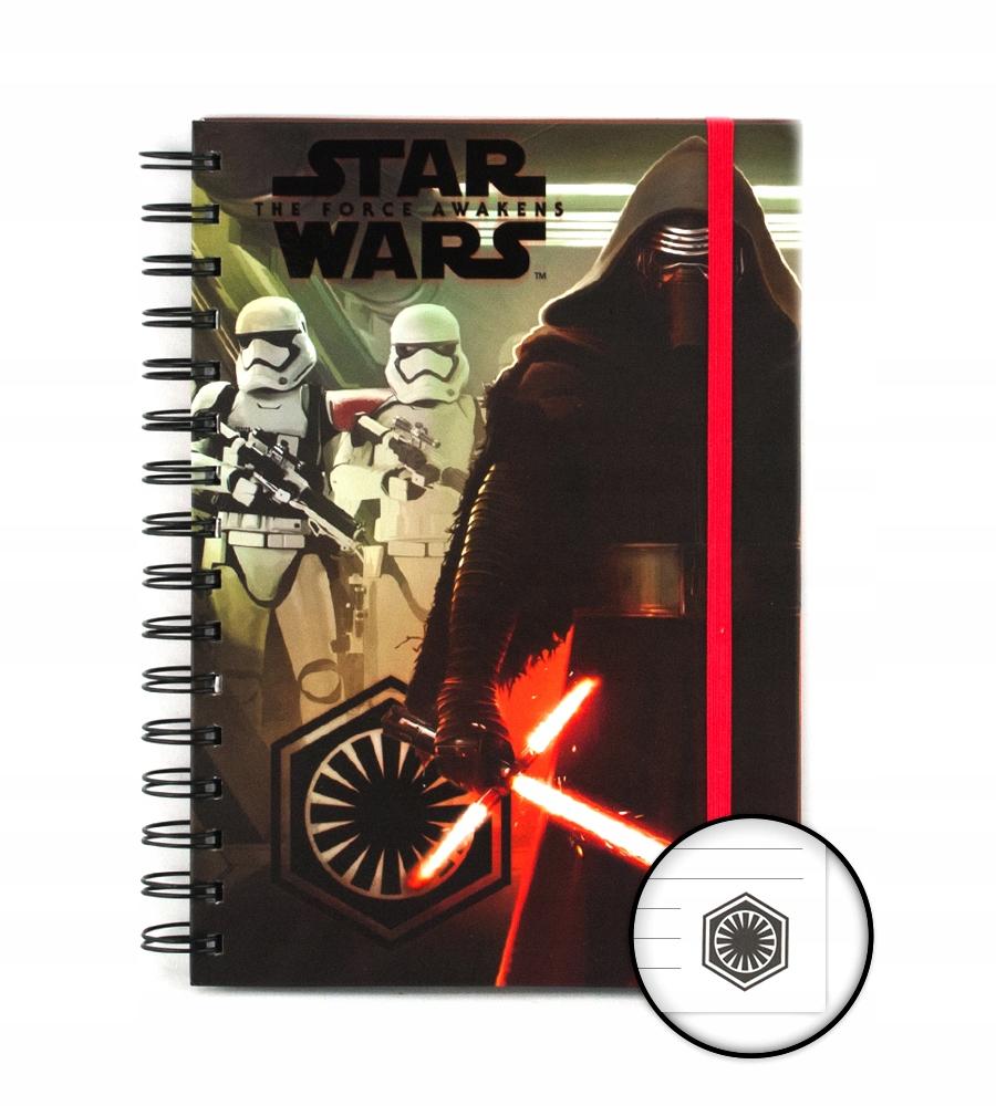 Star Wars Kylo Ren i Troopers - notes A5, zeszyt