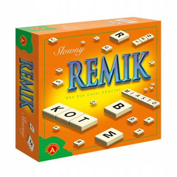 ALEXANDER Gra Remik Słowny De Luxe