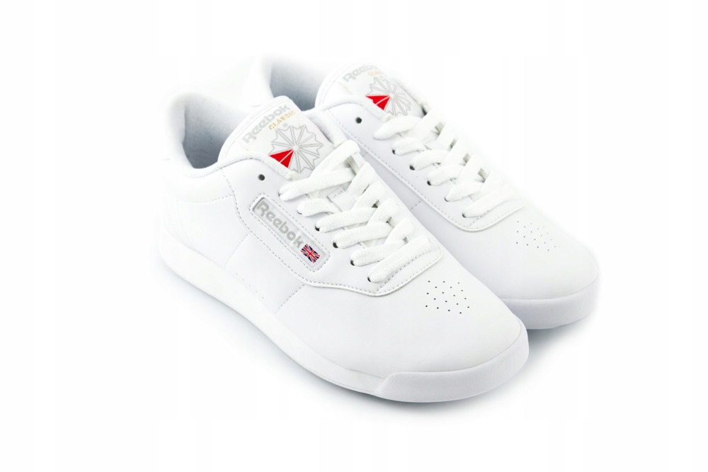 Buty REEBOK PRINCESS białe damskie sneakersy 40