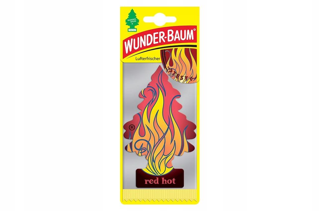 WUNDER BAUM CHOINKA ZAPACHOWA - Red Hot