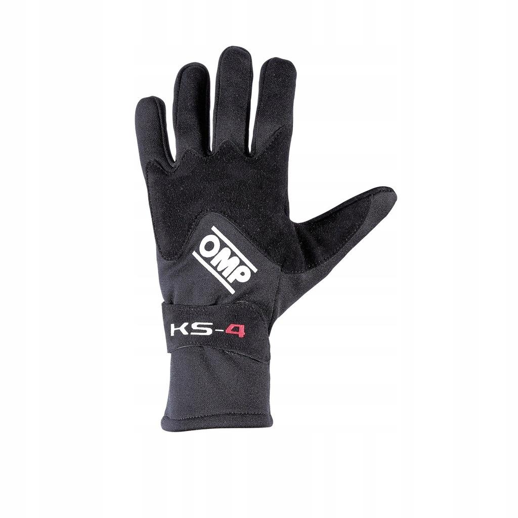 rękawice kartingowe OMP KS-4 czarne roz.5 babe