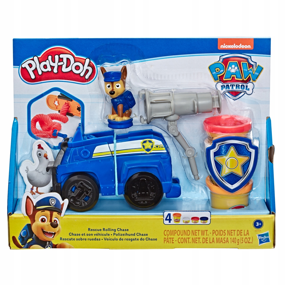 Play Doh Psi Patrol Chase E6924 8441917006 Oficjalne Archiwum Allegro