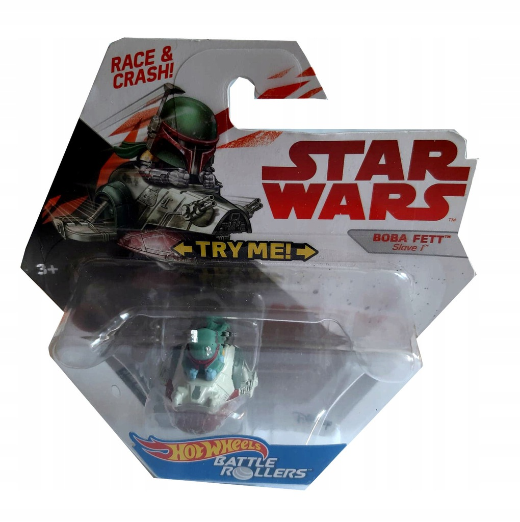 Hot Wheels Star Wars Rollers Boba Fett