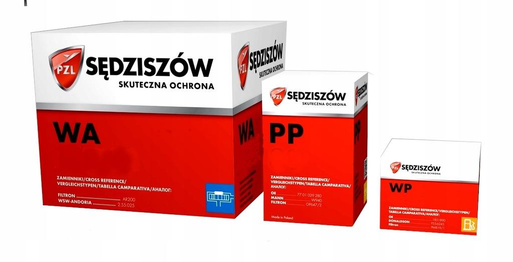 ZESTAW FILTRÓW PZL AUDI A3 2.0 TDI 140KM