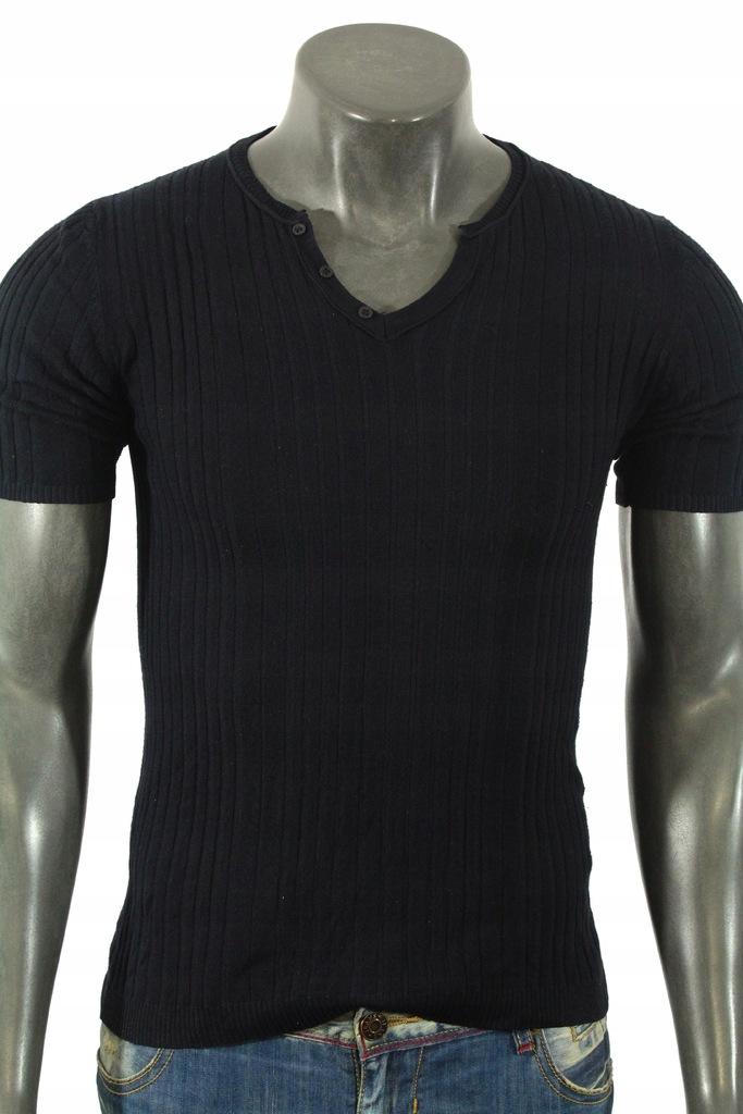 ZARA MAN Koszulka elastyczna stylowa! M