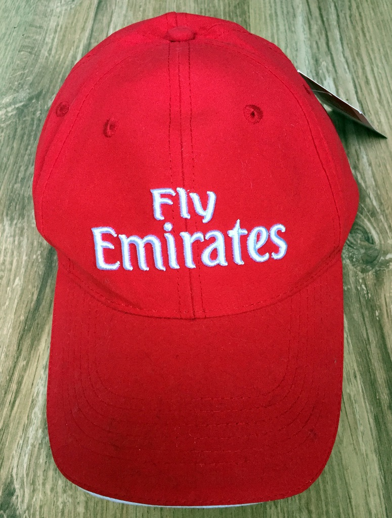 Oryginalna czapka Fly Emirates ARSENAL (nowa)