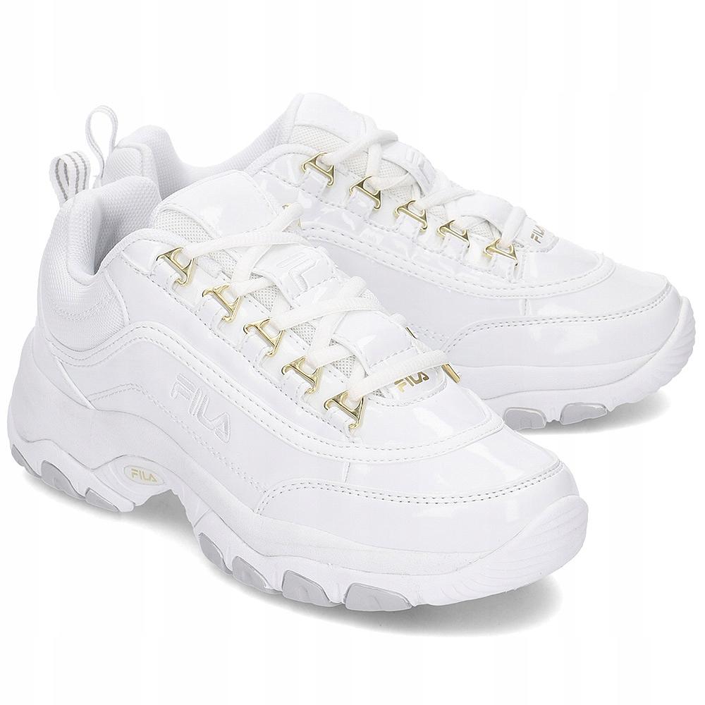 Buty Damskie Sneakersy Fila Strada 1010560 Białe