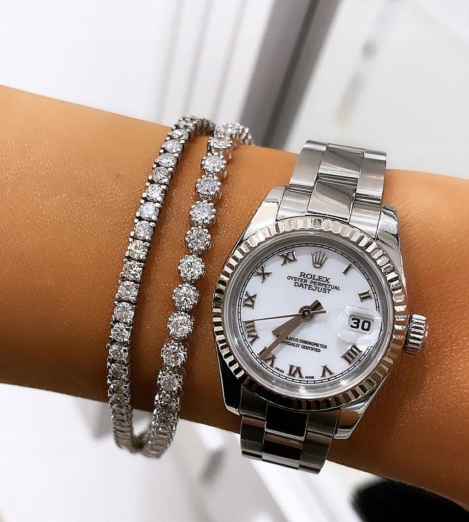 Okazja! Zegarek Rolex DATEJUST stal + białe złoto