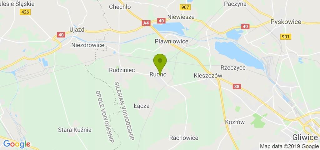 Działka Rudziniec, gliwicki, 1500,00 m²