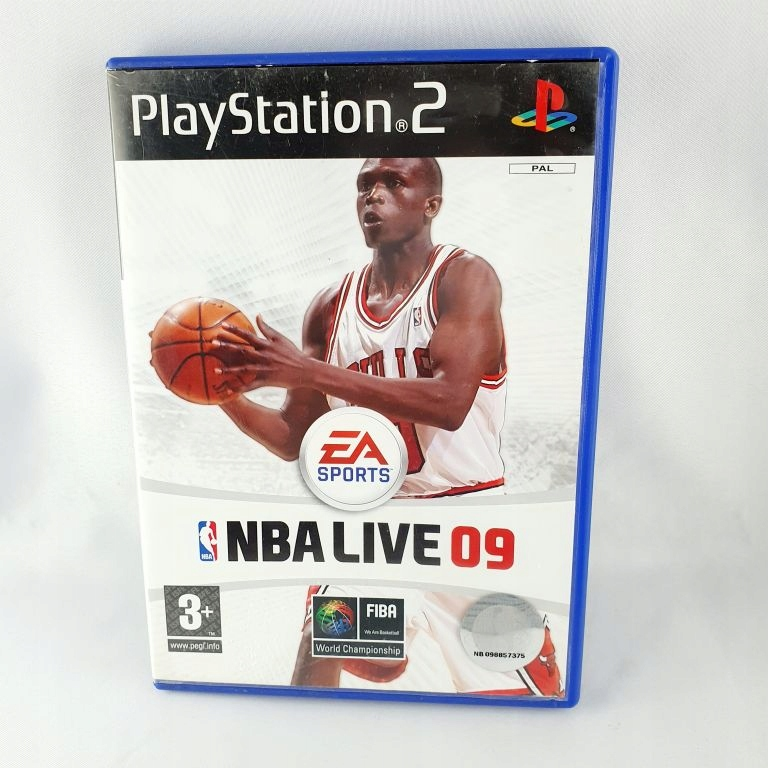 GRA NA PS2 NBA LIVE 09