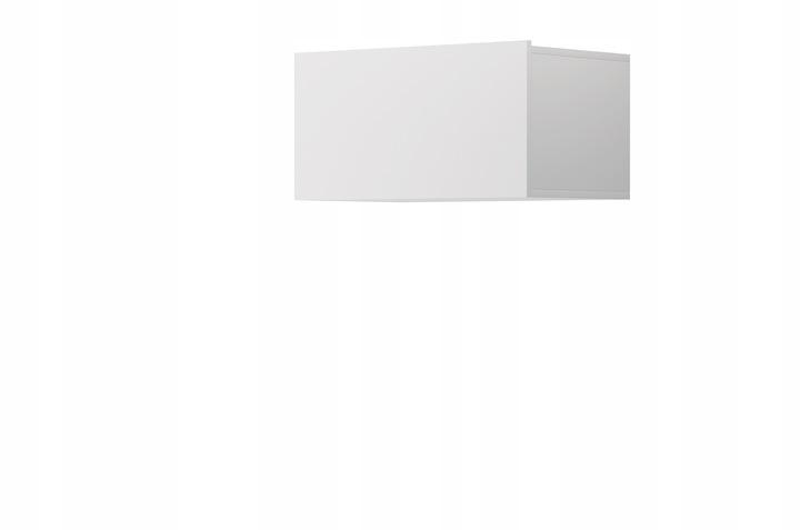 Szafka półka wisząca Regał zamykana Biały