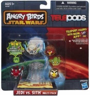 Angry Birds Star Wars Telepods Zestaw Figurek 8878491331 Oficjalne Archiwum Allegro