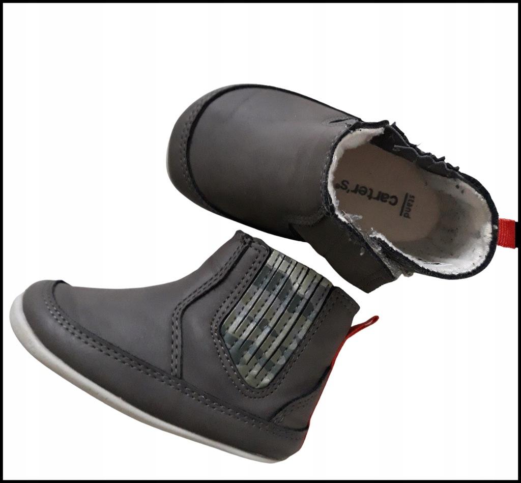 chłopiec śliczne buty buciki Carter's r.18,5 9cm