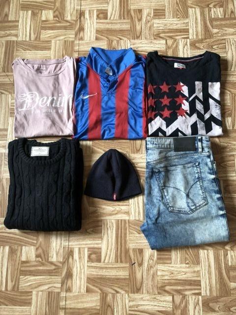 Tommy Hilfiger::Levi's::Calvin Klein::Nike M/L