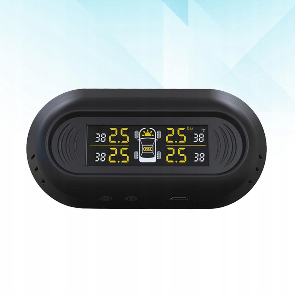 Car Tire Pressure Monitor Wireless Solar Car Tire