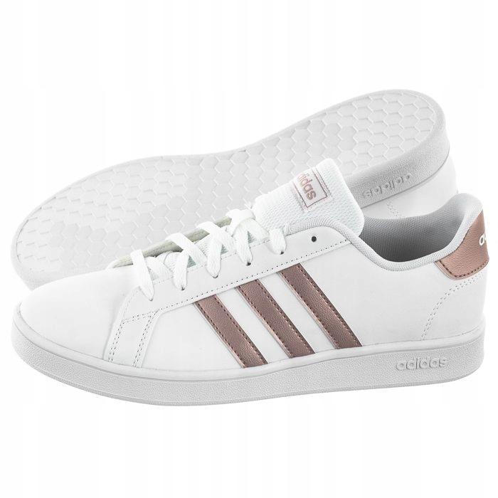 Buty Damskie adidas Grand Court K EF0101 Białe
