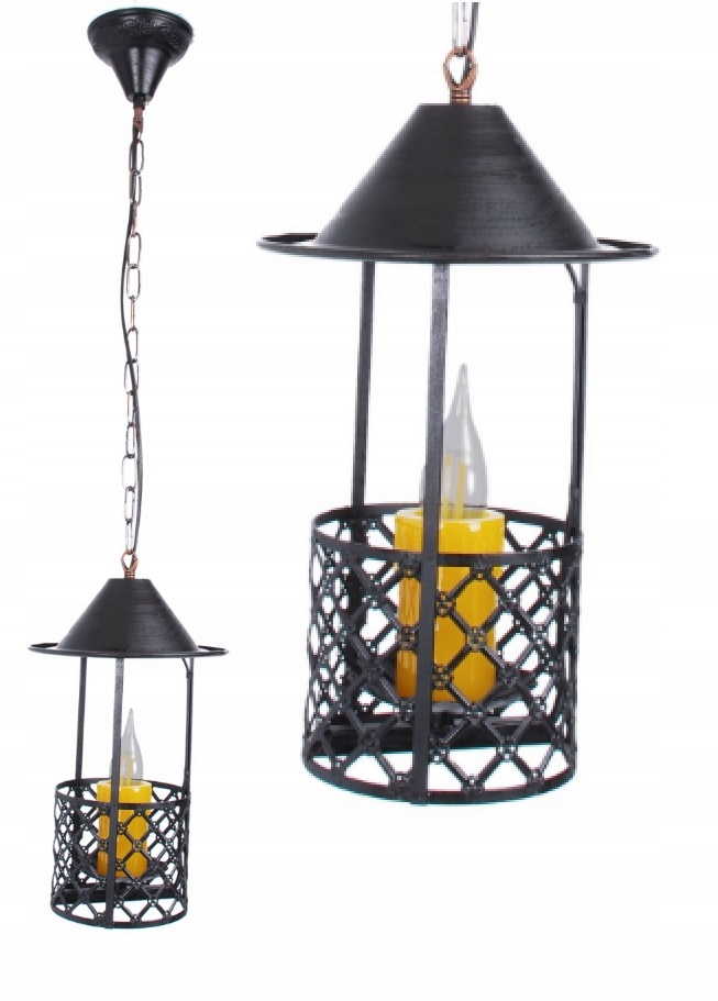 Lampa sufitowa wisząca LOFT RETRO żyrandol E14