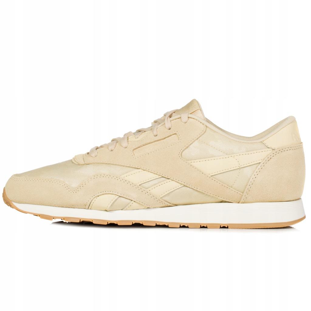 Buty męskie Reebok Classic Nylon beżowe BS9568