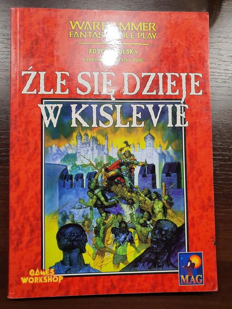 ŹLE SIĘ DZIEJE W KISLEVIE - Warhammer RPG - 1 ed.