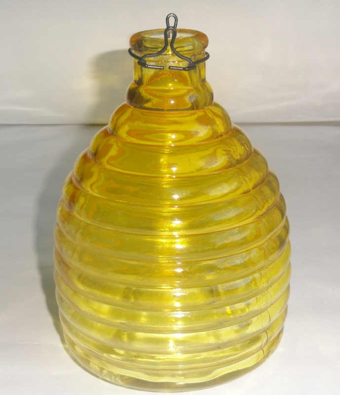Stara duża muchołapka butelka ALI-ER