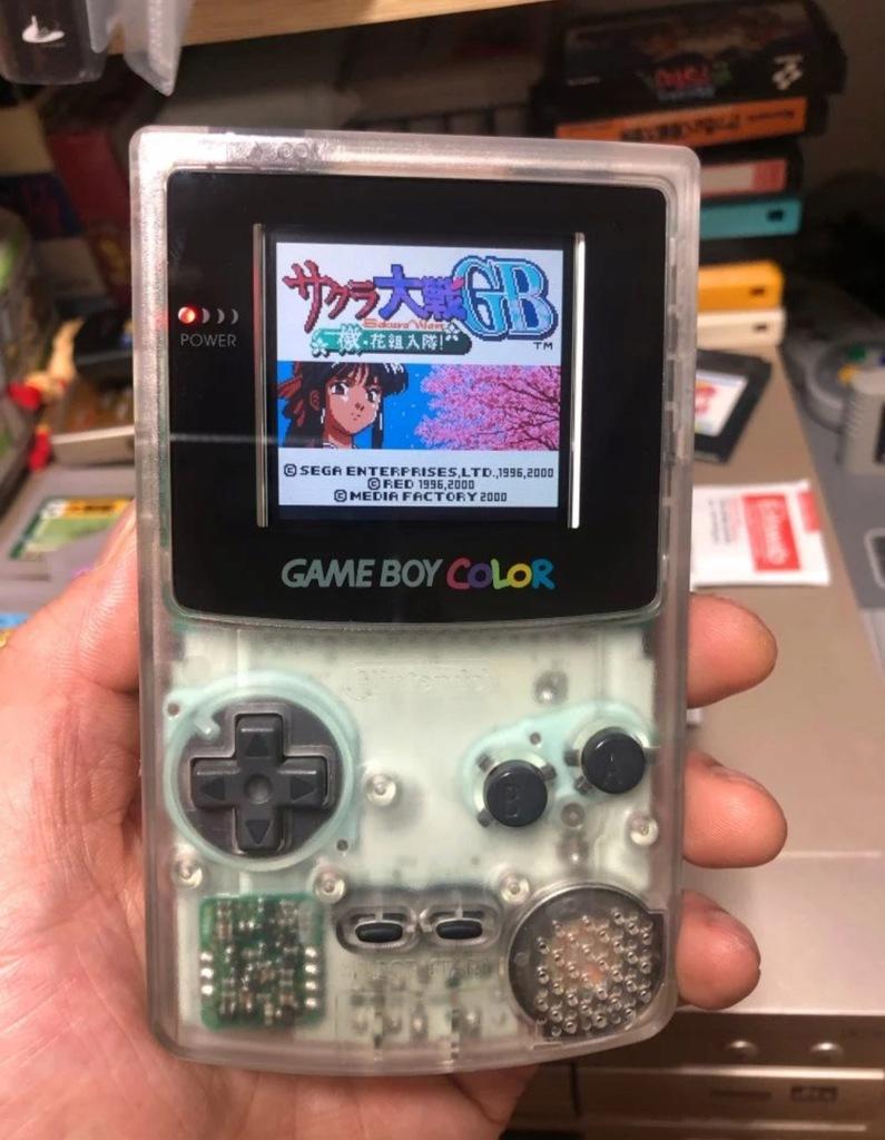 Game Boy color wyświetlacz kolorowy LCD