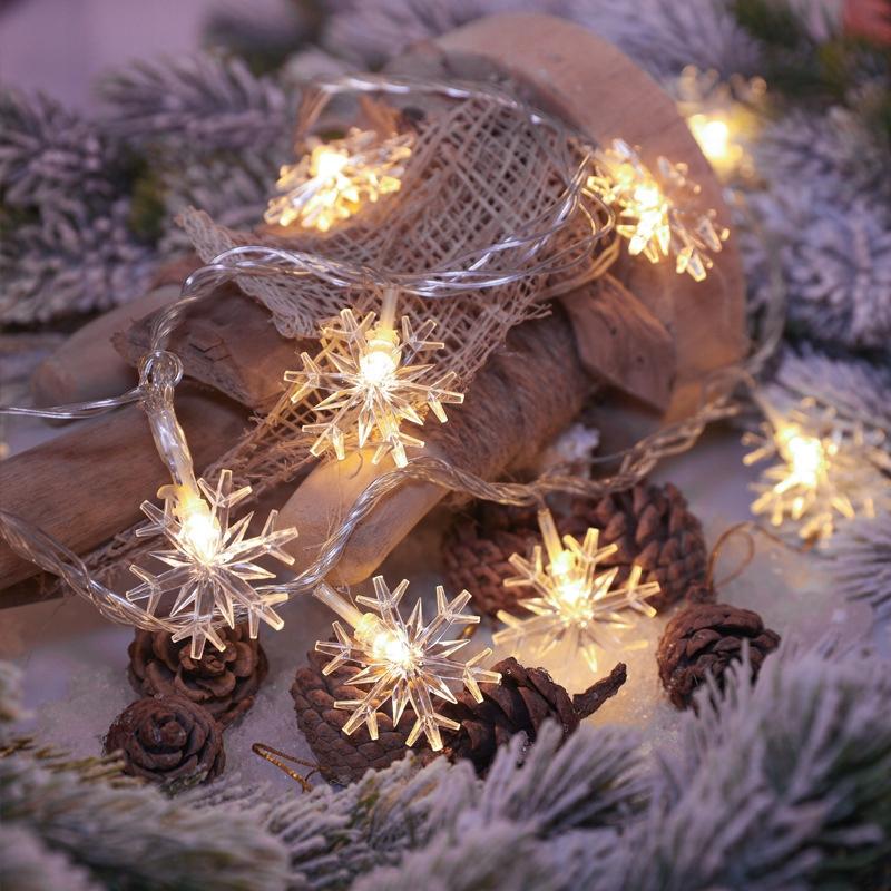 LDekoracyjne Światło LED W Kształcie Płatka Śniegu
