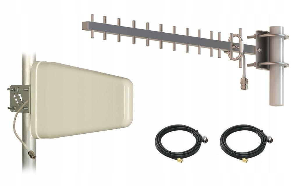 Zestaw specjalnie do ZTE MF286 LTE 2x Antena + 5m.