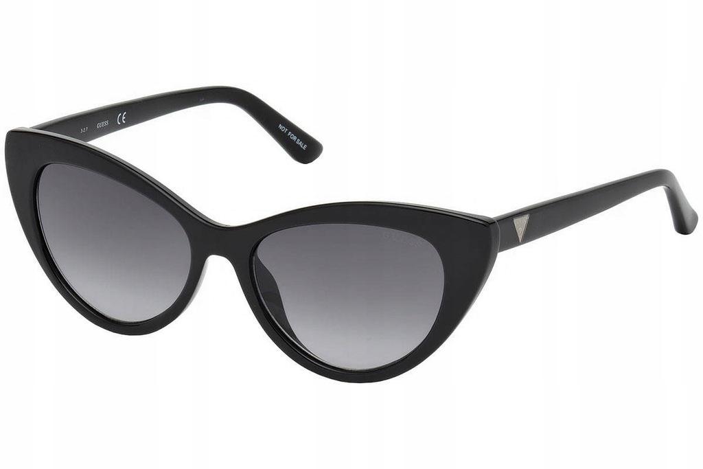 Okulary GUESS GU7565 01B przeciwsłoneczne damskie