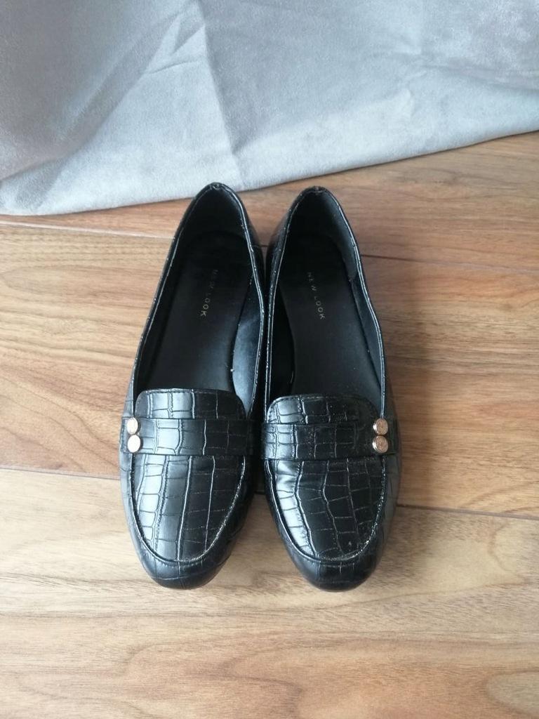 Mokasyny zdobione New Look 39 czarne