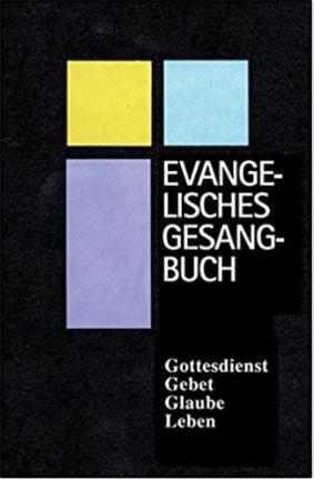 G154 Śpiewnik ewangelicki w języku niemieckim 2015