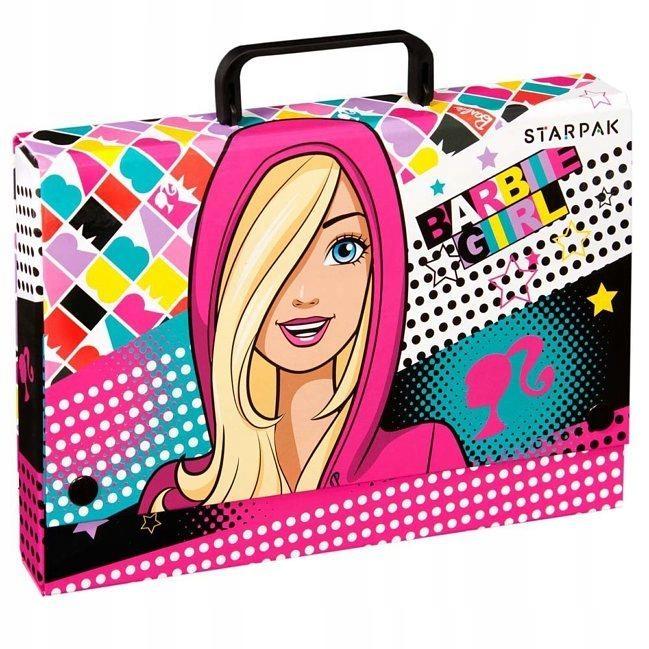Barbie, Teczka z rączką A4