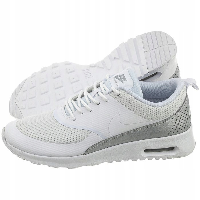 Buty Damskie Sportowe Nike Air Max Thea TXT Białe