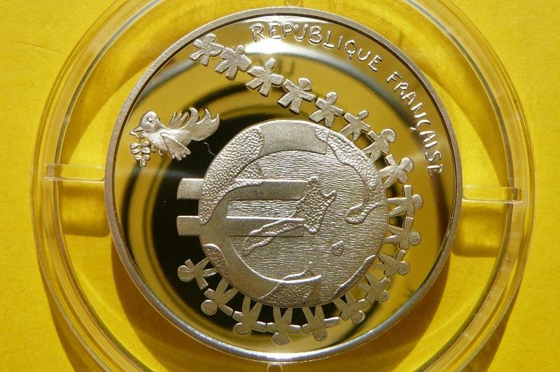 1/2 EURO FRANCJA 2002 DZIECI ŚWIATA SREBRO PROOF