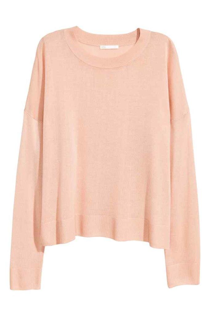H&M Cienki sweter rozm. 34(XS)