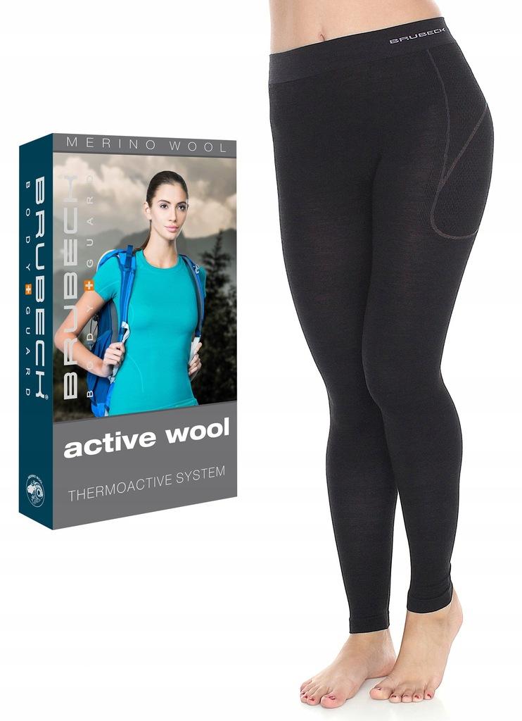 XL-TERMOAKTYWNE Getry damskie BRUBECK Active Wool