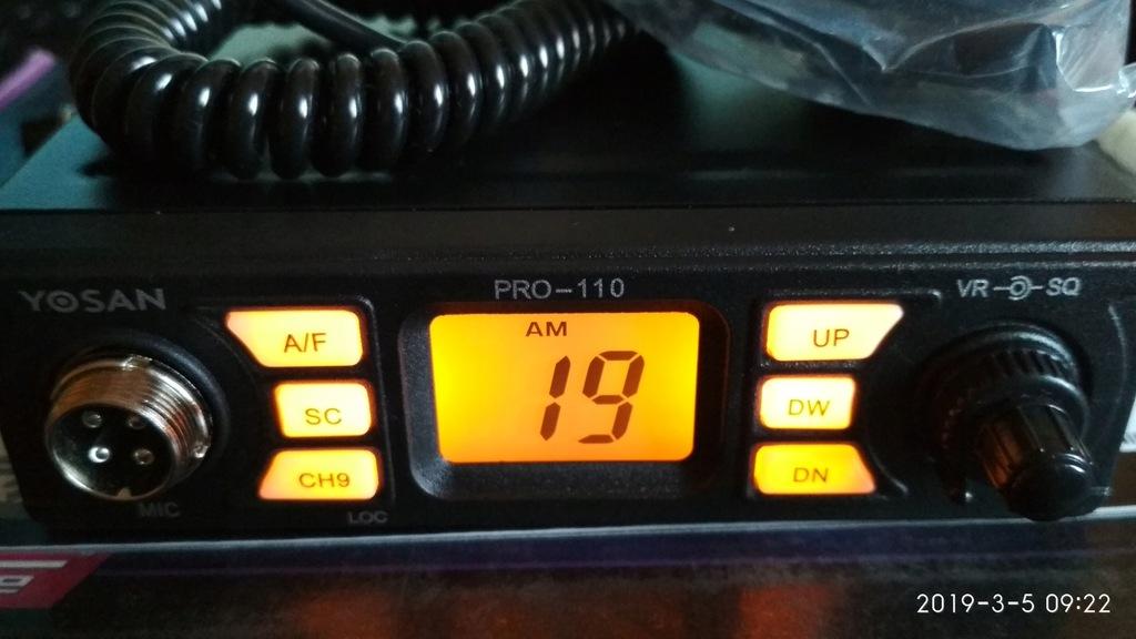 Cb radio Yosan PRO-110