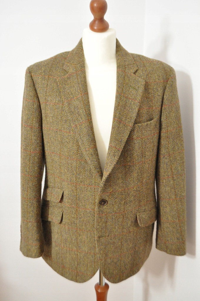 ATT marynarka Harris Tweed Marks Spencer 54S