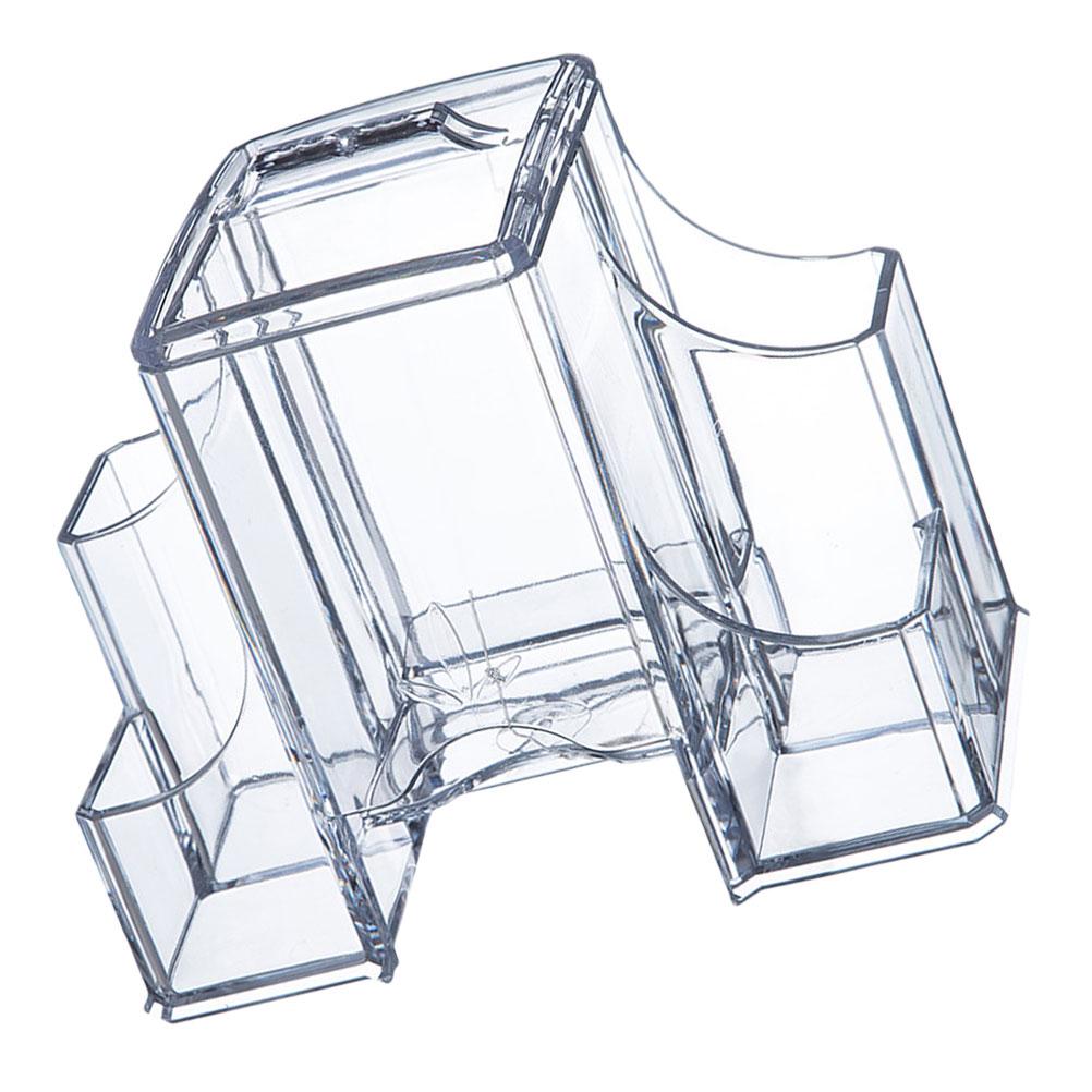 1 pc przezroczysty pojemnik do przechowywania kosm