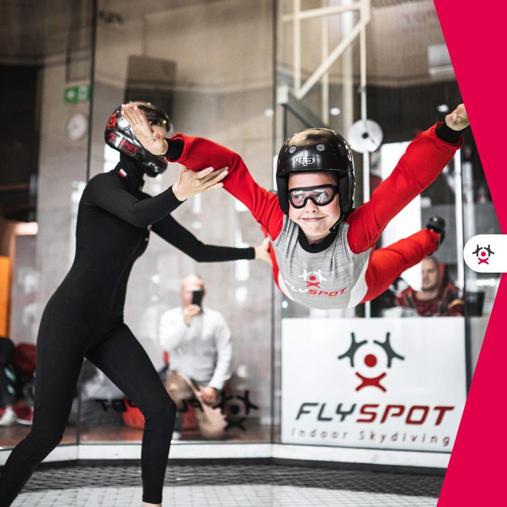 FLYSPOT - Pakiet 2 lotów, Prezent na komunię