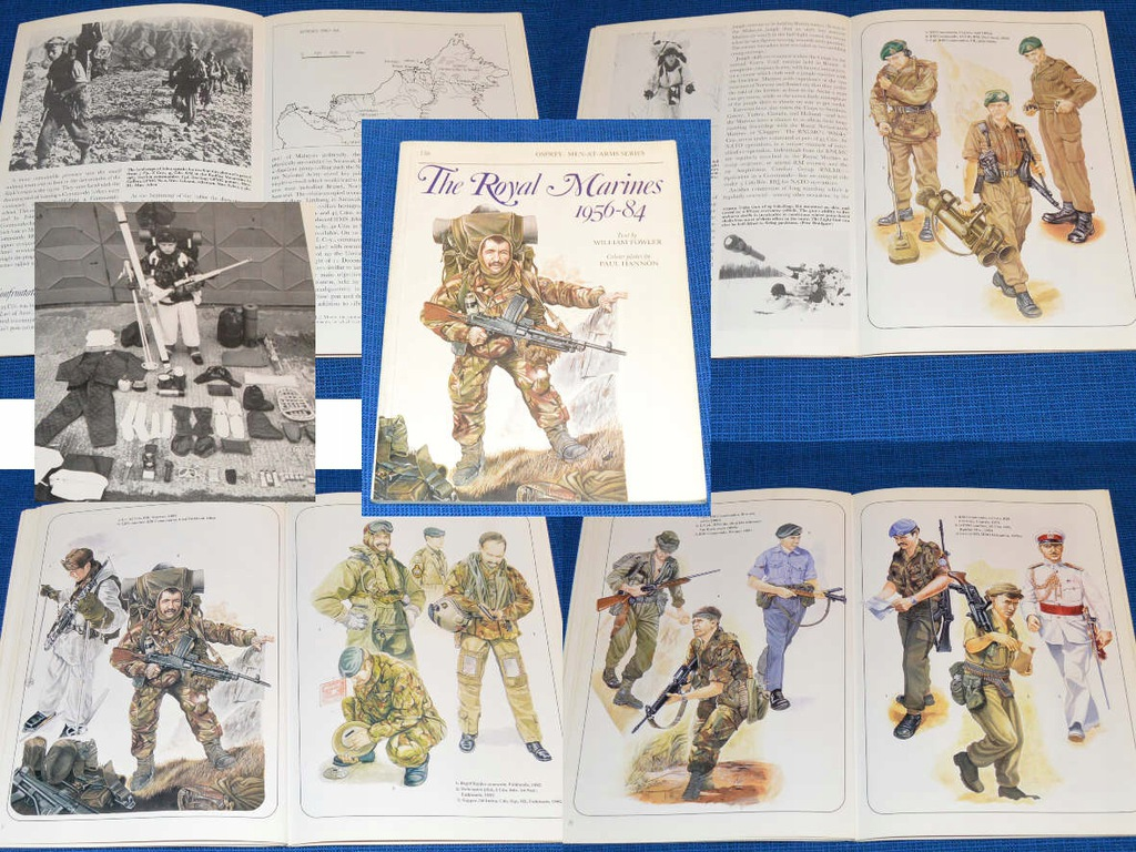 'The Royal Marines 1956-84'