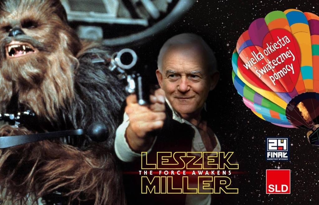 SLD: Leszek Miller zaprasza do kina na STAR WARS!