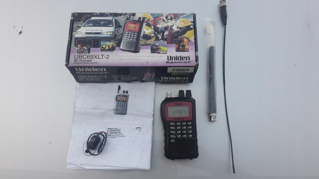 Radio skaner Uniden UBC69XLT-2