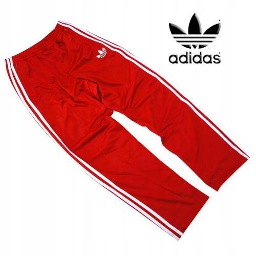 Adidas Firebird Spodnie Oldschool M Czerwone Dres